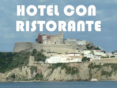 Hotel a Ibiza con servizio cucina e ristorante