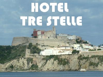 Hotel tre stelle a ibiza con soluzioni sul mare e all for Hotel tre stelle barcellona