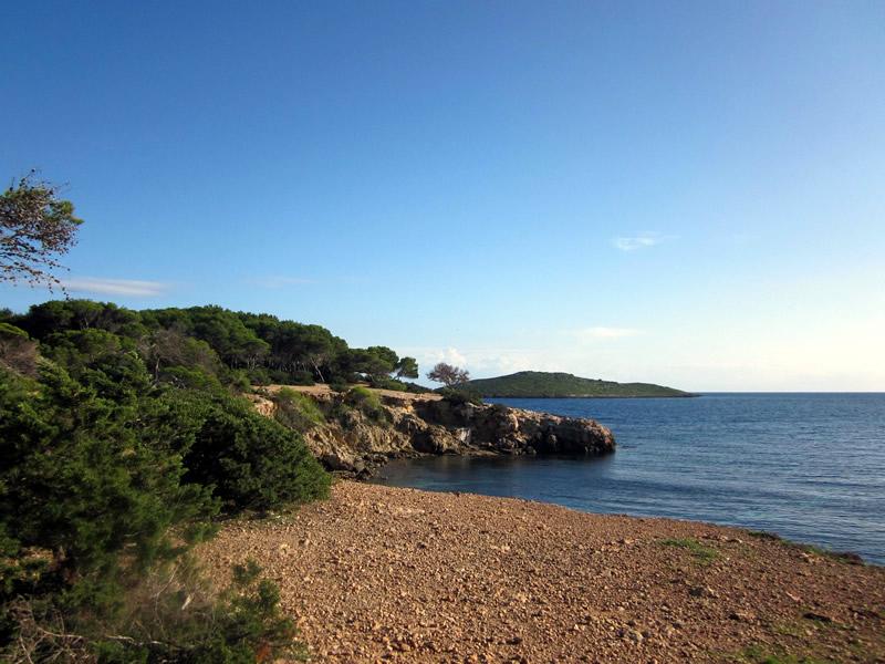 spiaggetta a Ibiza
