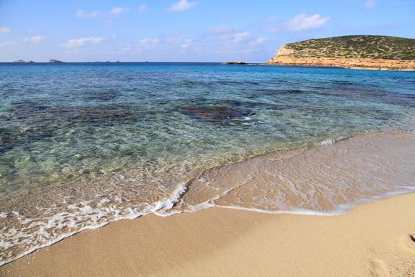 spiaggia a Ibiza