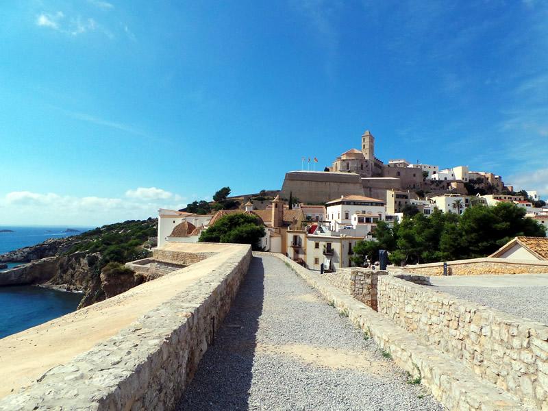 vista panoramica a Ibiza