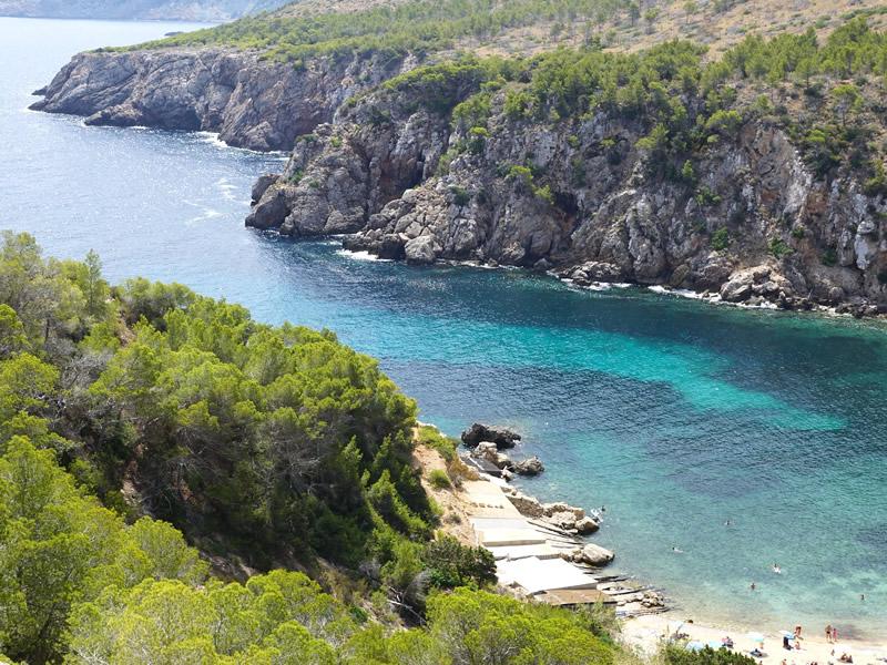 baia di mare a Ibiza